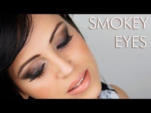 Ahumado de Ojos Paso a Paso Marron - Maquillaje Glamour a la Kim Kardashian