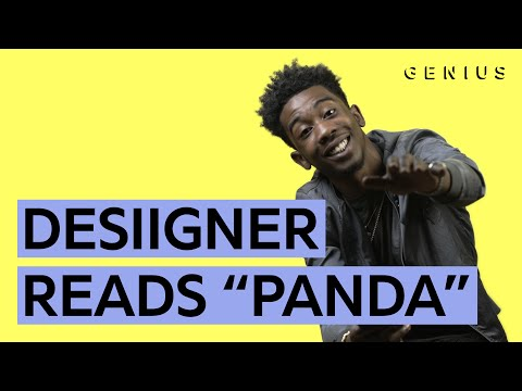 """Panda"": Desiigner Reads All The Musics"