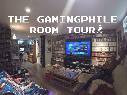 Video Game Room Tour! [HD] - thegamingphile