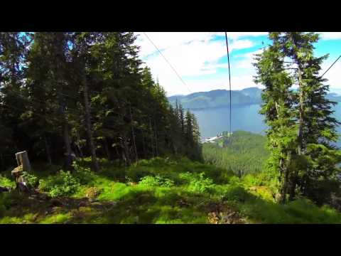 Scenic Mountain Ascent and World's Largest ZipRider, Icy Strait Point, Alaska