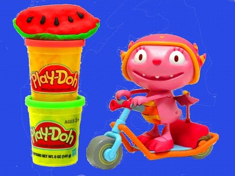 Disney Junior Henry Hugglemonster Summer's Super Scooter Play-Doh itsplaytime612