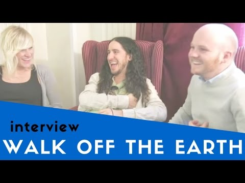 Mike's Bloggity Blog's interview with Walk Off The Earth