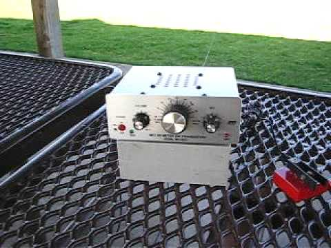 MFJ 9020 QRP Portable with Hy Power Antenna Company Dipole