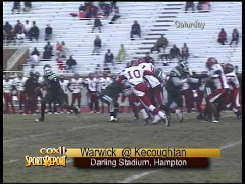 Warwick and Kecoughtan meet Saturday at Darling Stadium, hoping to end the regular season on a high note.