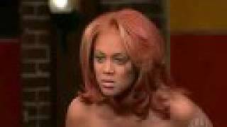 Tyra Banks yells at girl