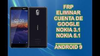 Frp Eliminar Cuenta de Google Nokia 3 1 5 1 Android 9