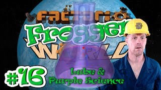 FACTORIO 0.15 PURPLE SCIENCE IS EASY | Frogger World Ep. 16
