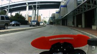sv650 around New Orleans, mid-city, french quarter