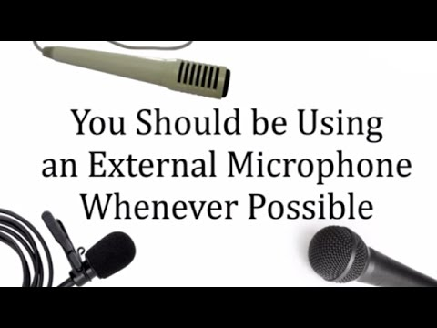 How to get Good Sound in Videos