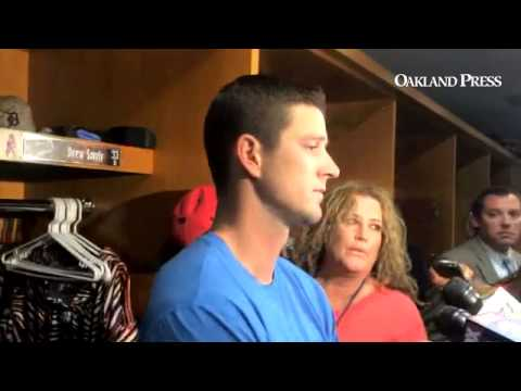 VIDEO: #Tigers Drew Smyly on assertion by Rays manager Joe Maddon that he plunked Evan Longoria on p