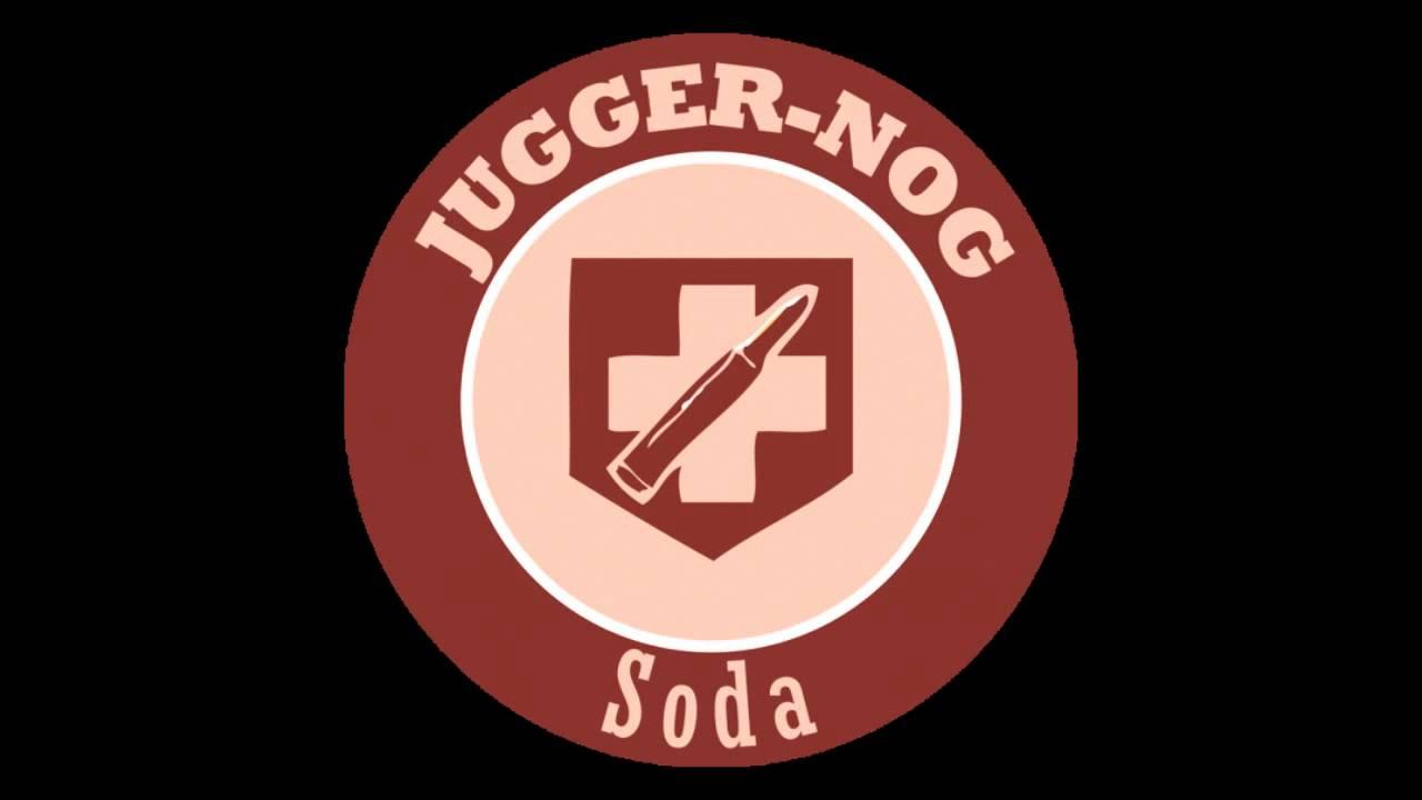 Call of Duty: Z... Juggernog Soda Label