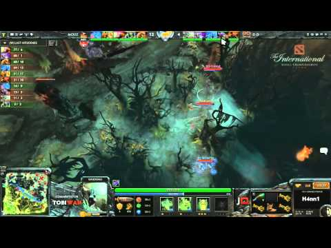 DD DOTA vs Mousesports Game 1  DOTA 2 International Western Qualifier Grand Final - TobiWan & Soe