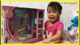 Bộ đồ chơi Búp Bê Chibi nhà tắm - NT KID Channel