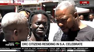 DRC citizens in SA celebrate