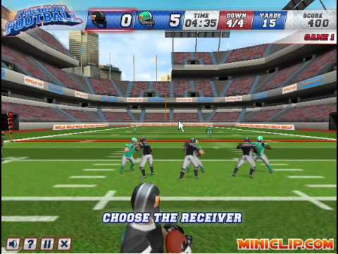 american football miniclip