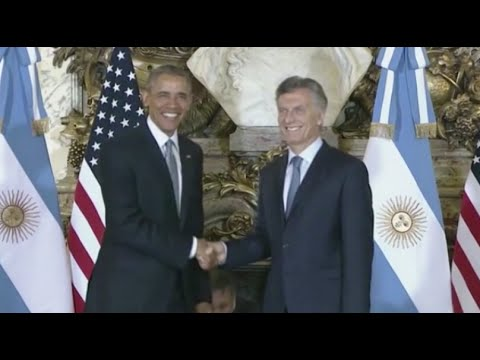 Obama Says US Too 'Slow' in Defending Human Rights in Argentina