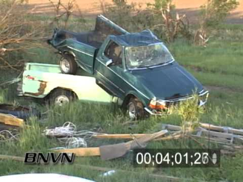 5/23/2004 Hallam Nebraska Tornado Aftermath Footage