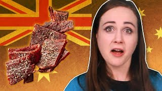 Irish People Try Australian Beef Jerky