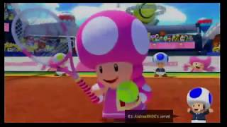 Mario Tennis Aces Standard Tournament (2/17/19 Stream Highlights) + Bonus