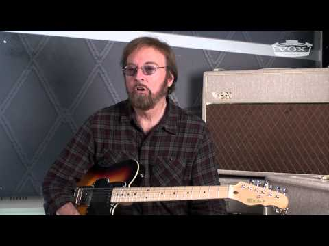 Jerry Donahue talks about his first choice in guitar amplification, the Vox AC30&AC15.