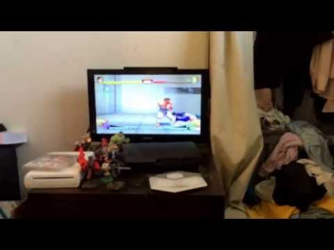 bowser playing super street fighter IV arcade edition