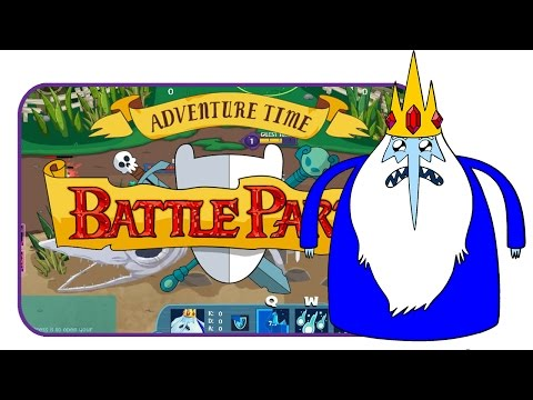 Ice King is still lonely | Adventure Time Battle Party (MOBA)