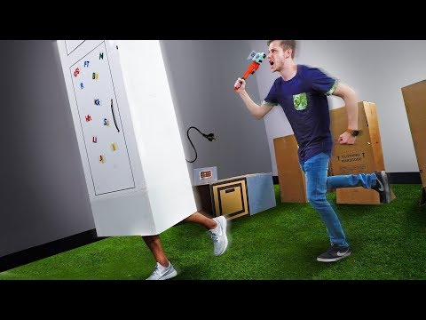 NERF Prop Hunt In Real Life!