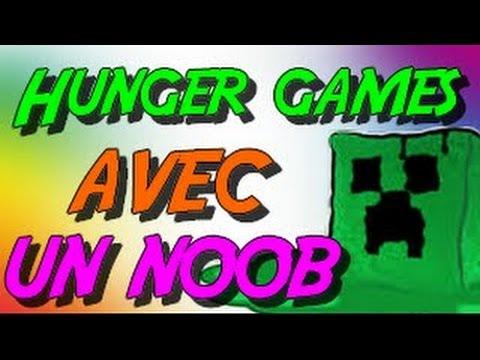 HUNGER GAMES AVEC UN NOOB ! FUNTAGE MINECRAFT