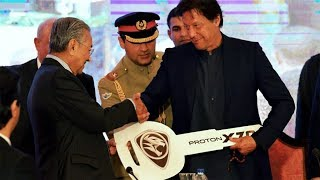 Pakistan AutoNews #30  Mahathir Mohammad Gifts Proton X70 SUV to Imran Khan  Hyundai Ioniq Pakistan