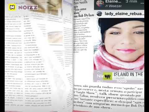 REVISTA.LADY ELAINE REBUÁ VEVO POPSTAR YOUTUBE/ GOOGLE