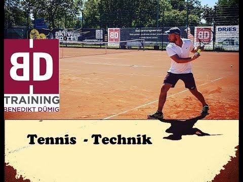 Verbessere alle Tennisschläge durch diese einfache Übung - Tennis Technik