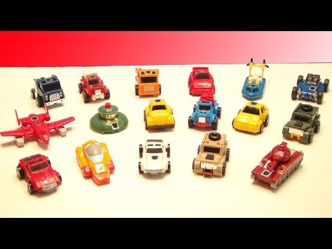 TRANSFORMERS G1 MINIBOT COLLECTION VIDEO TOY REVIEW