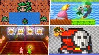 Evolution of Super Mario Bros. 2 References in Nintendo Games (1992 - 2019)