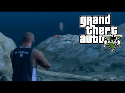 GTA 5 Easter Eggs - Secret Ghost! (GTA V)