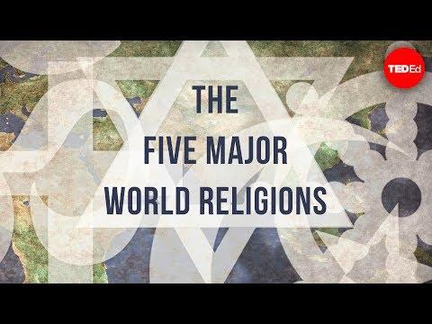 The five major world religions – John Bellaimey