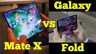 Huawei Mate X vs Galaxy Fold - which one is better for Gaming?