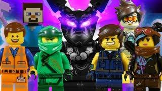 THE LEGO MOVIE 2 - NINJAGO - OVERWATCH - MINECRAFT SUPER MIX