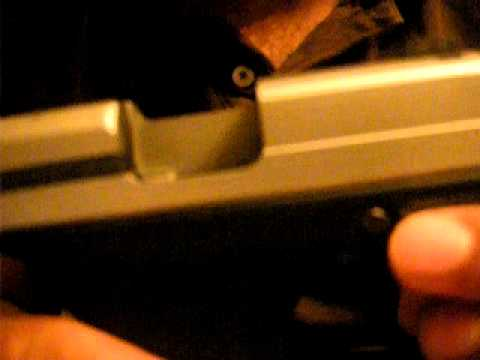 Sig Sauer P290 Field Strip and Reassembly
