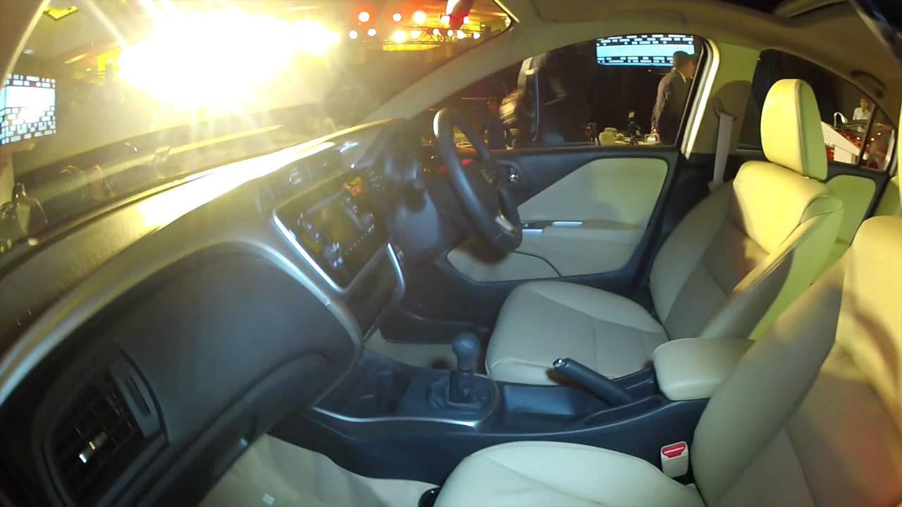 2014 New Honda City Interior Walkaround - YouTube