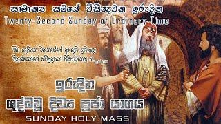 Sunday Holy Mass (Twenty-Second Sunday of Ordinary Time)- 29/08/2021