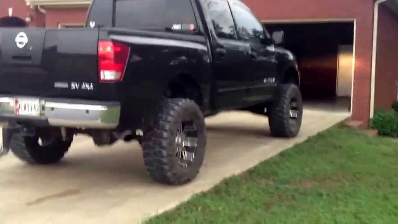 Lifted Nissan Titan >> Lifted 2011 Nissan Titan SV 4x4 part 2 - YouTube