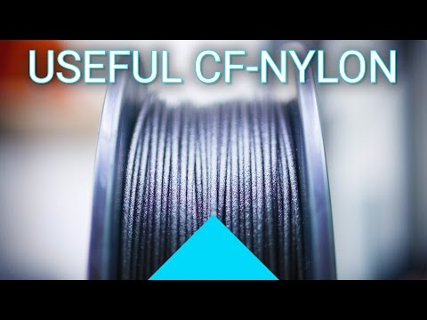 Useful carbon-fiber filament: Matterhackers NylonX review! #Filaween