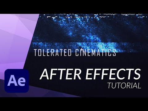 Create an Awesome Glitch Intro in After Effects