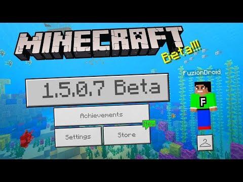 MCPE 1.5.0.7 BETA UPDATE!!! - Minecraft Pocket Edition