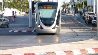 Trams in Rabat, Morocco, Africa