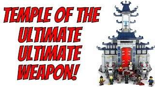 LEGO Ninjago Temple of the Ultimate Ultimate Weapon - Unboxing, Speed Build & Review - 70617