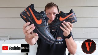 NIKE VLONE AIR FORCE 1 UNBOXING