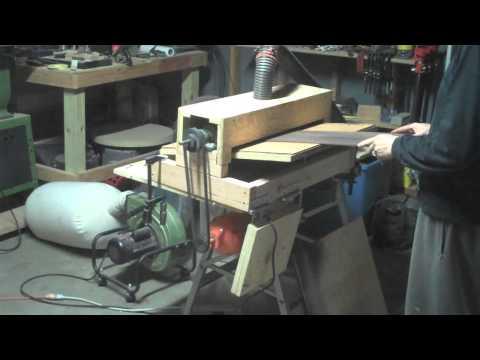 DIY Thickness Sander
