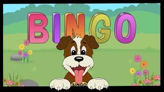 BINGO SONG | Funny Dog | Sing Swing n Rhyme