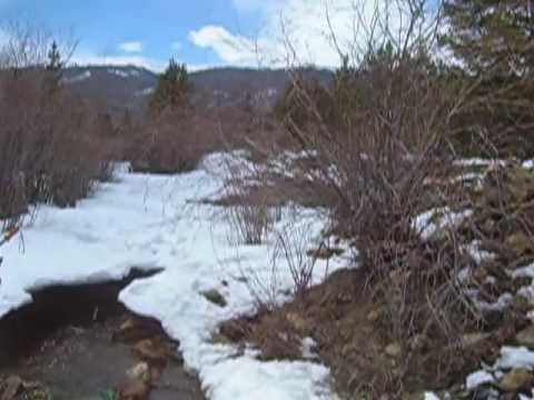 Cache Creek, Colorado -- Sluicing For Gold -- 10 May 13